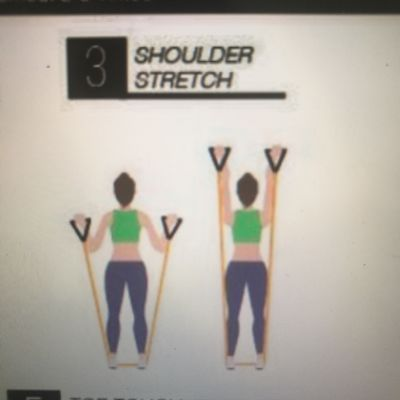 Band Shoulder Push