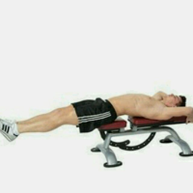 How to do: Bench Abdominal Hip Thrusts - Step 1