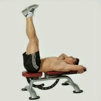 Bench Abdominal Hip Thrusts