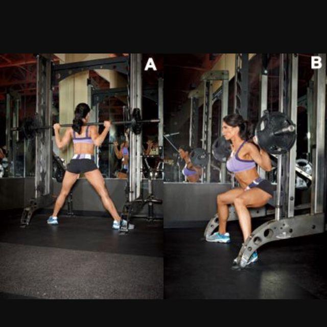 Smith Machine Sumo Squat (Hip Flexion) - Exercise How-to