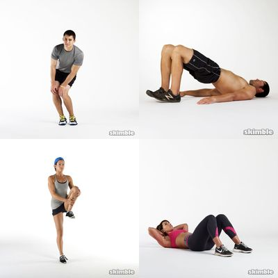 Light exercise and stretch