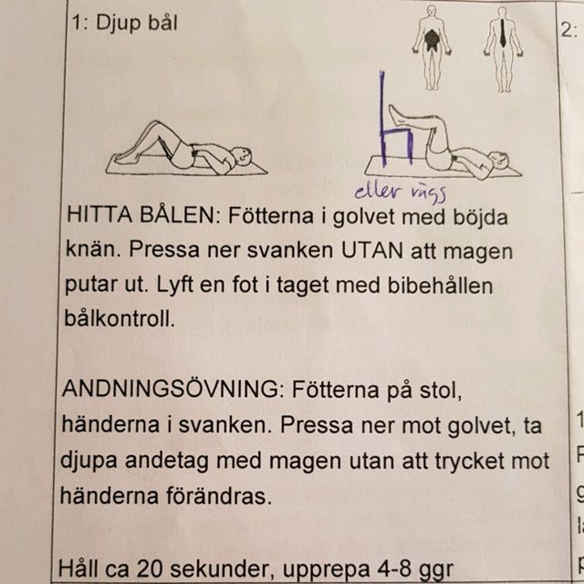 How to do: Bålkontroll - Step 1
