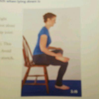 Deep Rotator Stretch Sitting