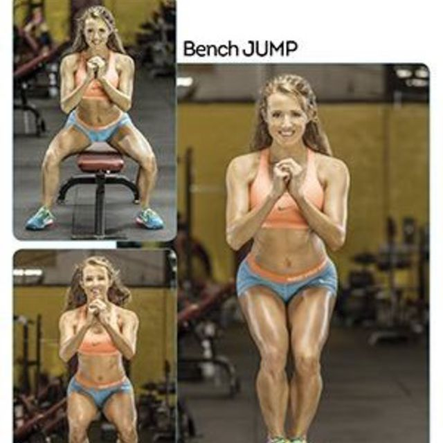 How to do: Bench Jump - Step 1