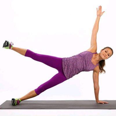 Side Plank Star