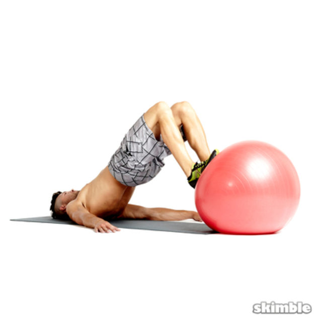 Finisher On The Ball (Lower Body)
