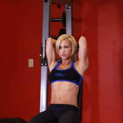 Seated Tricep Press