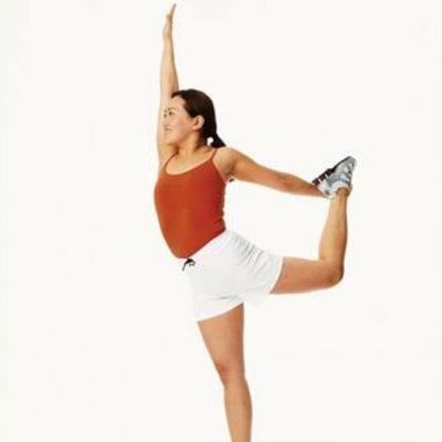 Standing Thigh Stretch Left