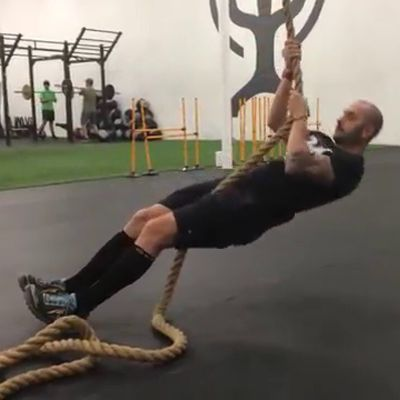 Seated Rope Pull