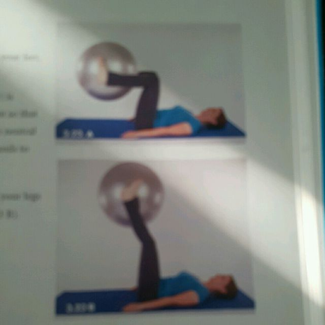 How to do: Ball Lifts - Step 1