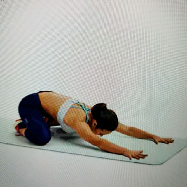 How to do: Back Stretch 2 - Step 1