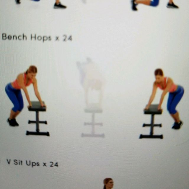 How to do: Bench Hop - Step 1