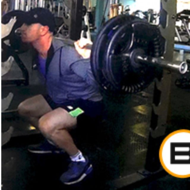How to do: Back Weighted Squats - Step 2