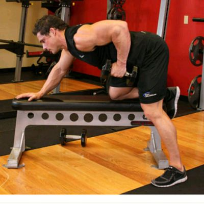 One Arm Dumbell Row