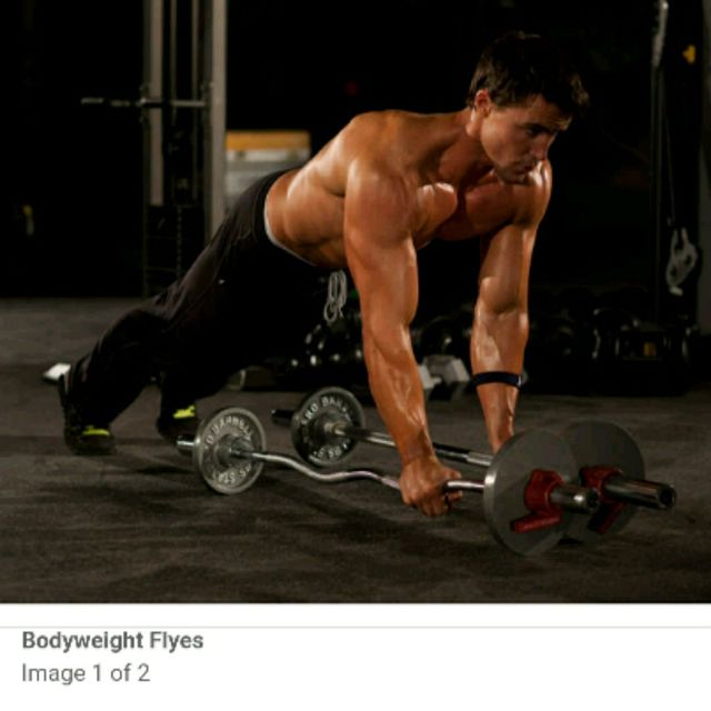 How to do: Bodyweight Flyes - Step 1