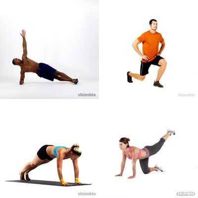 Yvonne's workout