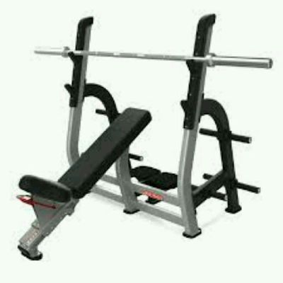 Barbell Incline Bench Press 3 X 10 SP