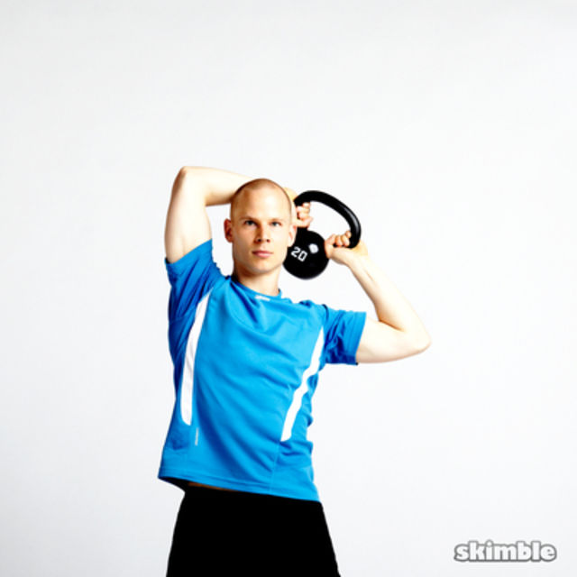 How to do: Kettlebell Around the World - Step 3