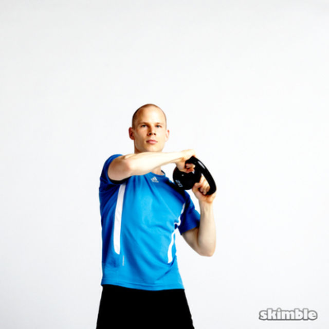 How to do: Kettlebell Around the World - Step 4