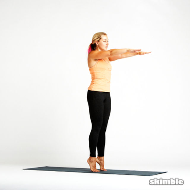Hot Style Chair Pose Exercise How To Skimble