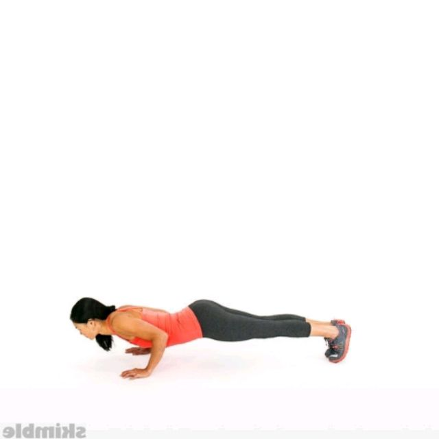How to do: 4 Mountain Climber + 1 Push-Up - Step 6