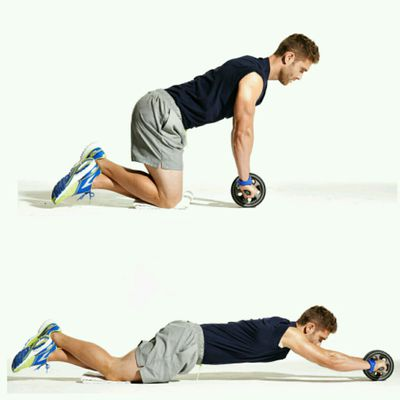 Ab Wheel Rollouts From Step