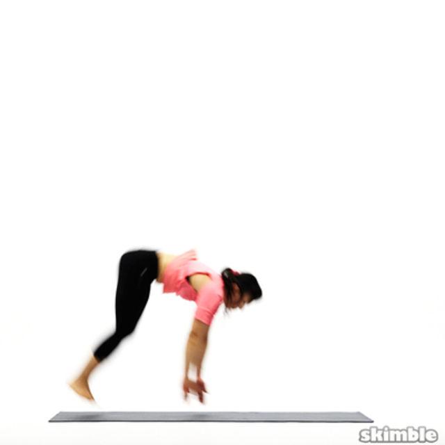How to do: Back Handsprings - Step 5