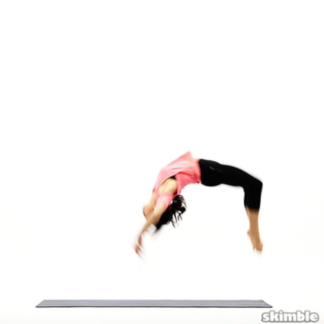 How to do: Back Handsprings - Step 4