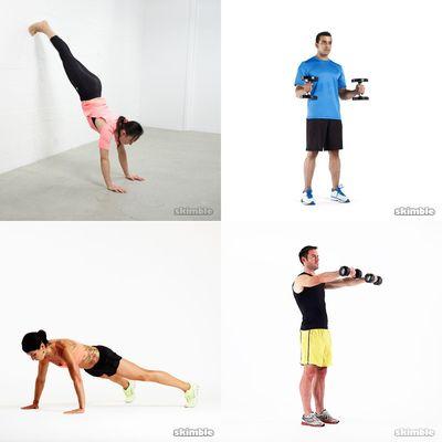 Arms, Shoulders & Back