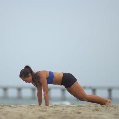 Beach Burpee Challenge DF 
