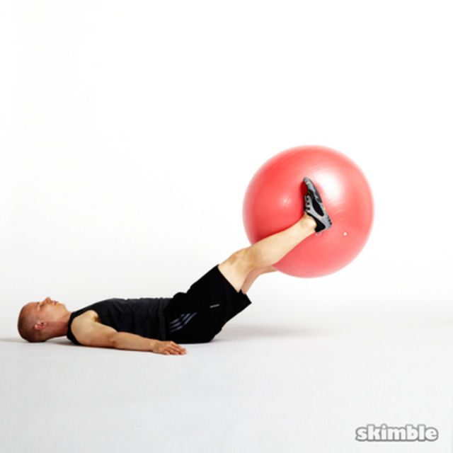 How to do: Ab Ball Raises - Step 3