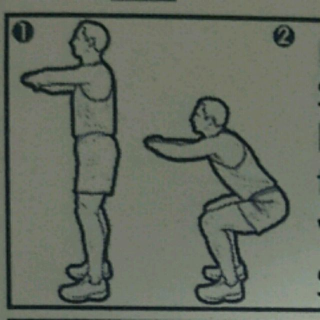 How to do: Body Weight Deep Squat - Step 1