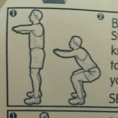 Body Weight Jump Squats