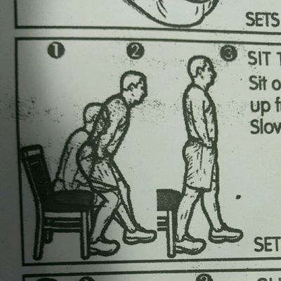 Sit To Stand In Stride Stance