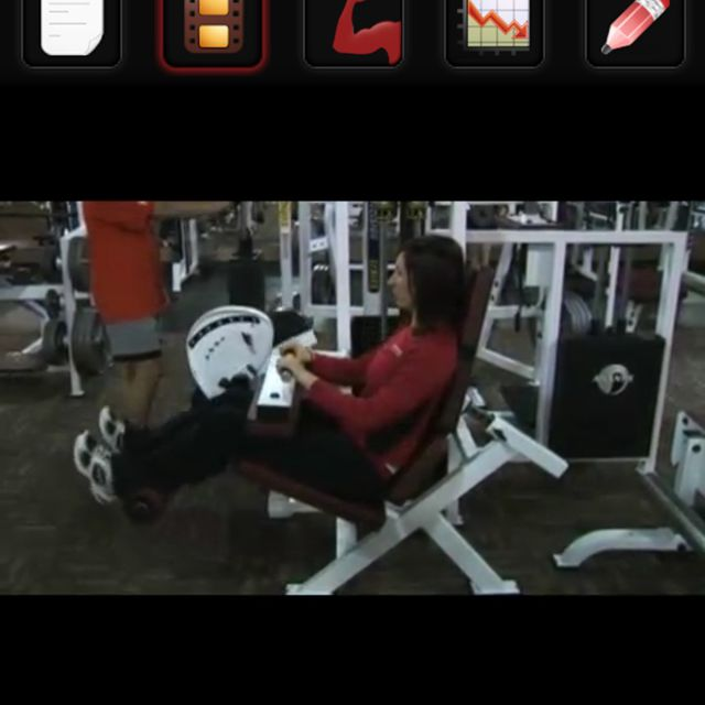 Seated Leg Curl - Exercise How-to - Workout Trainer by Skimble