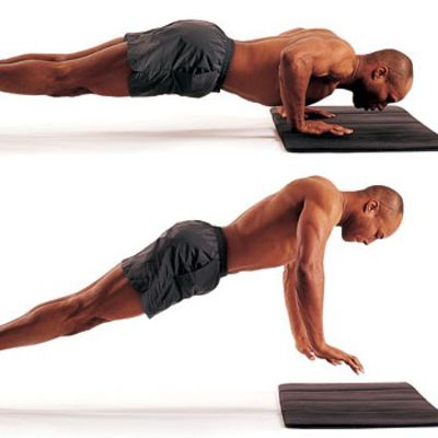 Push Up Jumps
