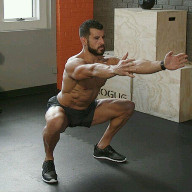 How to do: Squat - Step 1