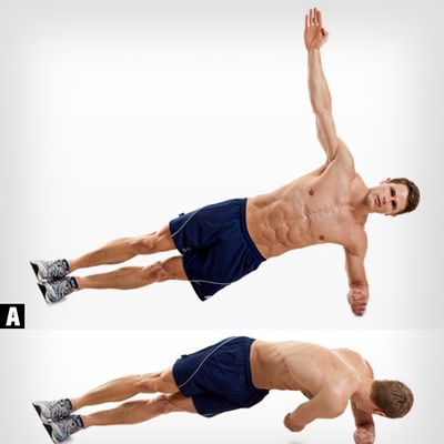 Side Plank With Reach Under