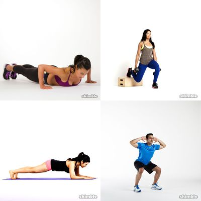 Daily Quick Workouts -- 20 Min Or Less