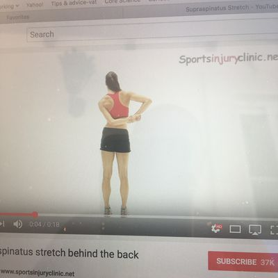 Supraspinatus Stretch Pull