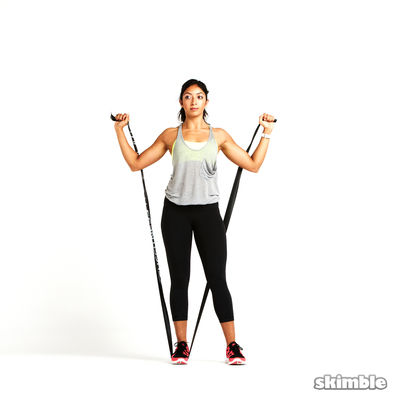 Full Body Band With Abdominal Braces
