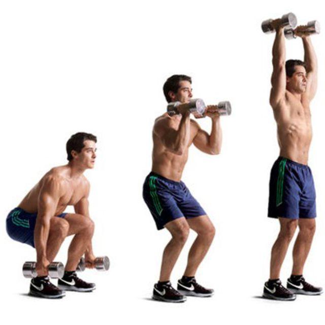Weights & Leg Technique