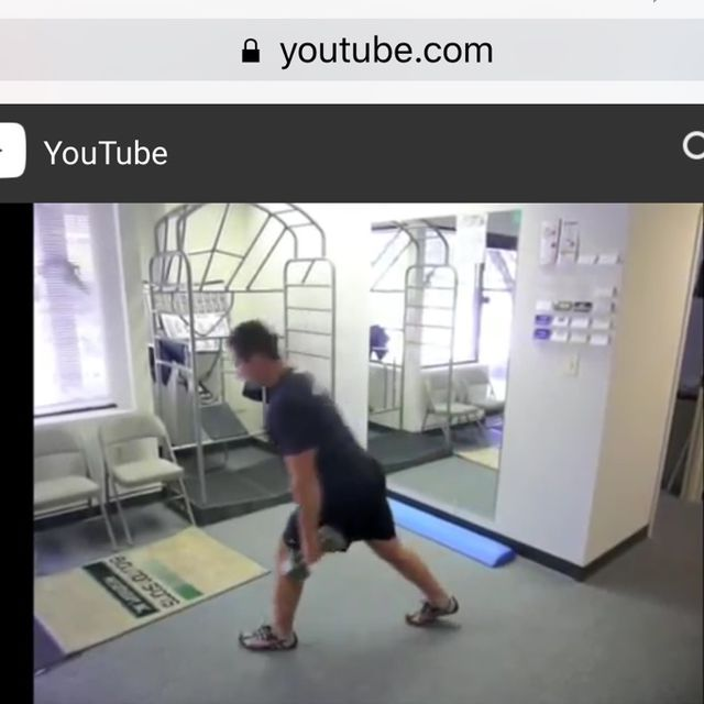 How to do: Anterior Lunges - Step 1