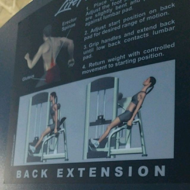 How to do: Back Extension - Step 1