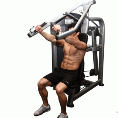 Incline Machine Press