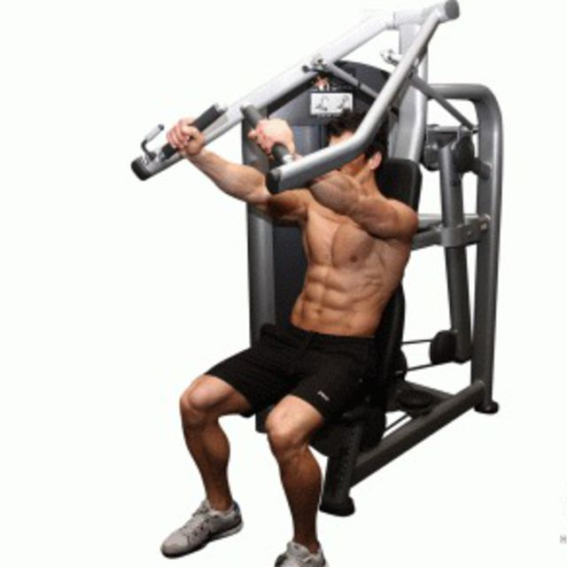 How to do: Incline Machine Press - Step 1
