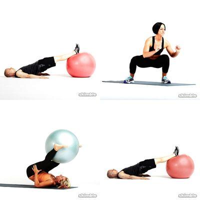 Beginner on Ball
