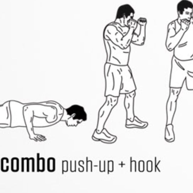 How to do: Push Up Hook - Step 1