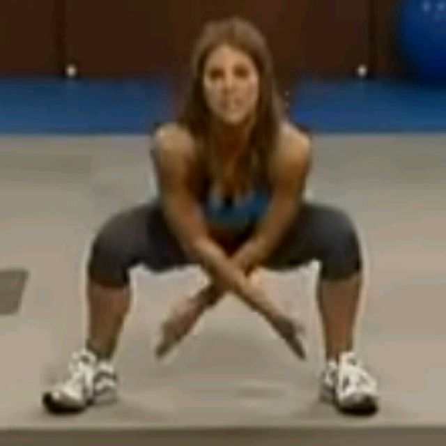 How to do: X Squats - Step 2