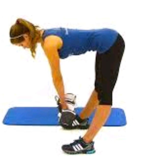 How to do: Dumbbell Bent Over Ventral Pulls - Step 1
